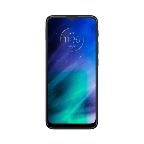 Imagem de Smartphone Motorola One Fusion Azul Safira, Tela 6.5
