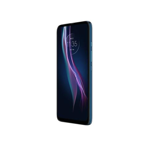 Imagem de Smartphone Motorola One Fusion Plus 128GB Tela 6.5 Polegadas Câmera Quadrupla 64MP Selfie 16MP Azul
