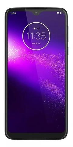Celular Smartphone Motorola One Macro Xt2016 64gb Azul - Dual Chip
