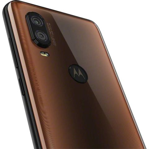 Imagem de Smartphone Motorola XT1970 Moto One Vision Bronze 128 GB