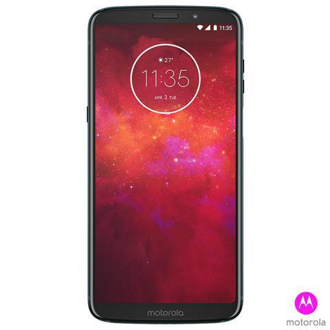 Imagem de Smartphone Motorola Z3 Play Dual Chip Android 8.0 Tela 6 128GB 4G Câmera 12MP+5MP Dual Cam