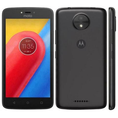Celular Smartphone Motorola Moto C Xt1754 16gb Preto - Dual Chip