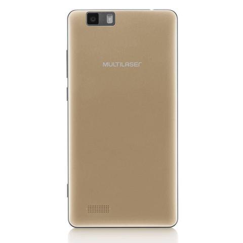 Imagem de Smartphone Ms70 4g Dual Chip Android 6.0 Tela 5,85 Octa-core 64gb 16mp+8mp Multilaser Dourado P9037