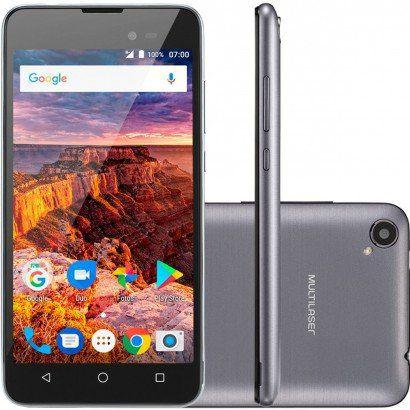 Imagem de Smartphone Multilaser MS50L 3G QuadCore Dual Chip Android 7