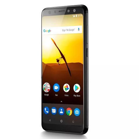 Imagem de Smartphone Multilaser Ms80 32GB  Android 7.1  Preto  3G Ram NB722