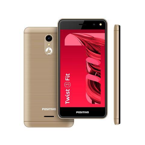 Celular Smartphone Positivo Twist 3 Fit S509c 32gb Dourado - Dual Chip