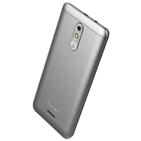 "Imagem de Smartphone Positivo Twist S511 16GB Cinza 3G Quad Core 1GB Tela 5"" Câm. 8MP + Selfie 5MP"