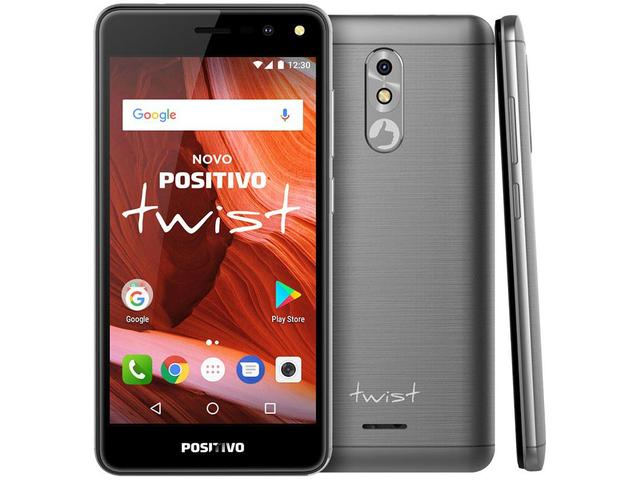 Imagem de Smartphone Positivo Twist S511 16GB Cinza 3G