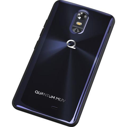 Imagem de Smartphone Quantum MUV Pro 32GB 4G Android 6.0 Tela 5.5 Câmera 16MP Azul Escuro
