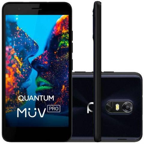 Celular Smartphone Quantum Muv Pro 32gb Azul - Dual Chip