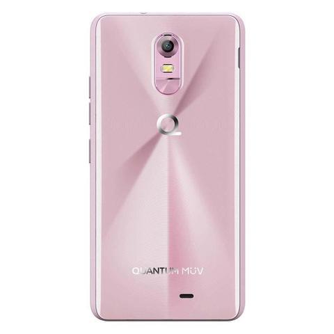 Imagem de Smartphone Quantum MÜV PRO Cherry Blossom, 16GB, Dual Chip, 5.5