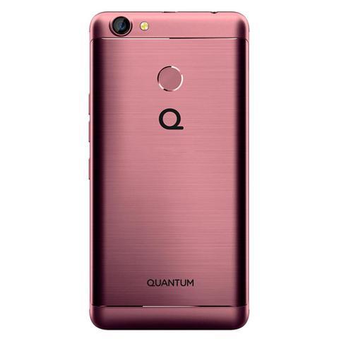 Imagem de Smartphone Quantum YOU E 32GB Tela 5 Quad-Core Dual SIM 4G Câmera 13MP - Rosa