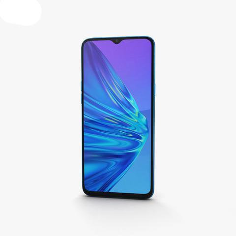 Celular Smartphone Realme 5 64gb Azul - Dual Chip