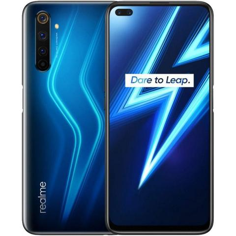 Celular Smartphone Realme 6 Pro 128gb Azul - Dual Chip