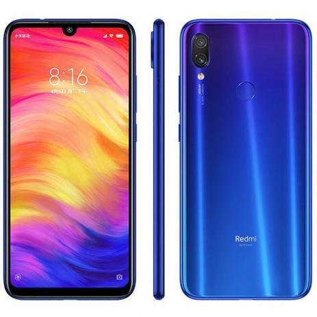 """Imagem de Smartphone redmi note 7 4ram 128gb tela 6.3 """" lte dual global azul"""