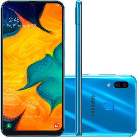 Imagem de Smartphone Samsung A30 (2019) 32GB  SM-A305G Desbloqueado Azul