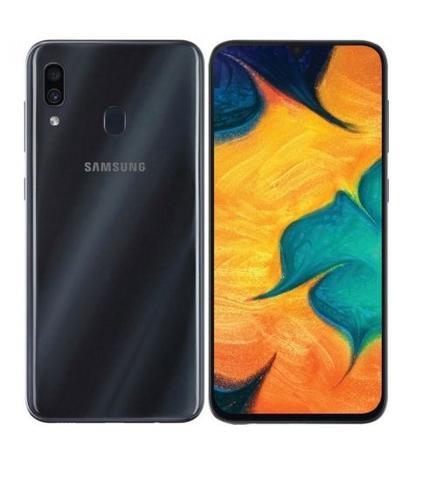 Imagem de Smartphone / Samsung / A30 / Tela de 6.4 / Dual Sim / 32GB - Preto