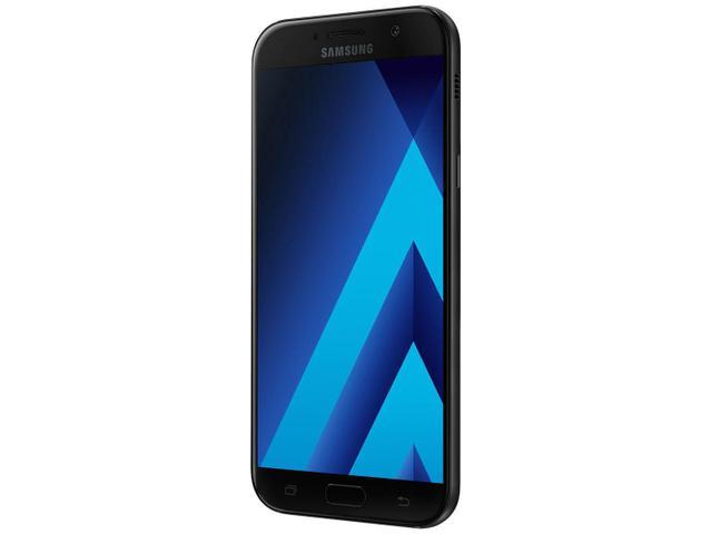 Imagem de Smartphone Samsung A7 2017 32GB Preto Dual Chip