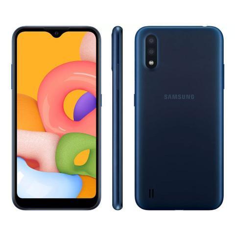 Imagem de Smartphone Samsung Galaxy A01 32GB Duas câmeras 13MP + 6MP