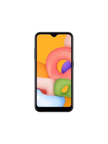 """Imagem de Smartphone Samsung Galaxy A01 32GB Preto Octa-Core - 2GB RAM Tela 5,7"""" Câm. Dupla + Câm. Selfie 5MP"""