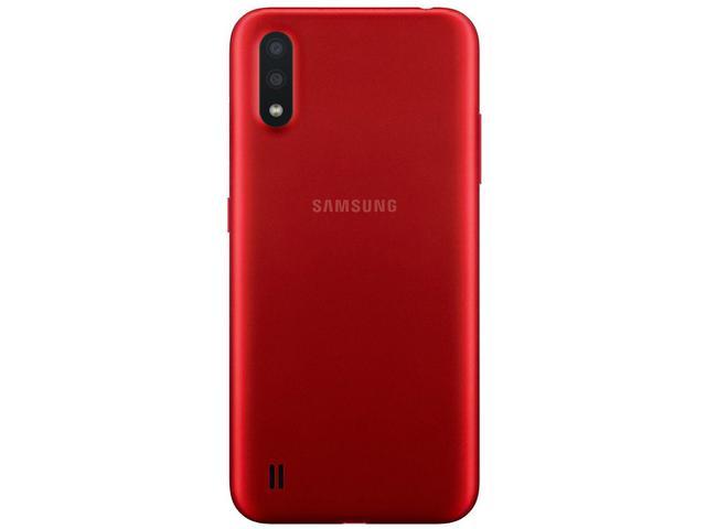 Imagem de Smartphone Samsung Galaxy A01 32GB Vermelho