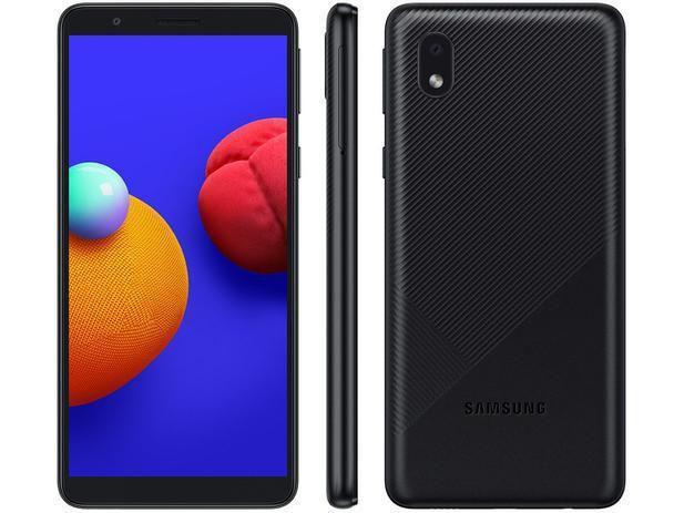 Imagem de Smartphone Samsung Galaxy A01 Core, 32GB, 2GB RAM - Preto