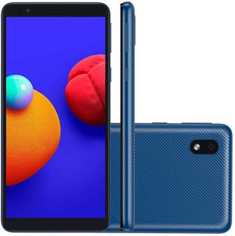 Celular Smartphone Samsung Galaxy A01 Core A013m 32gb Azul - Dual Chip