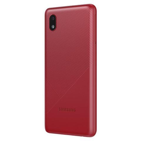 Imagem de Smartphone Samsung Galaxy A01 Core Vermelho 32GB, Tela Infinita de 5.3
