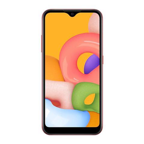Imagem de Smartphone Samsung Galaxy A01 Tela 5.7 Polegadas Câmera Dupla 2GB RAM Dual Chip Processador Octa-Core 32GB
