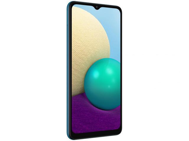 Imagem de Smartphone Samsung Galaxy A02 32GB Azul 4G