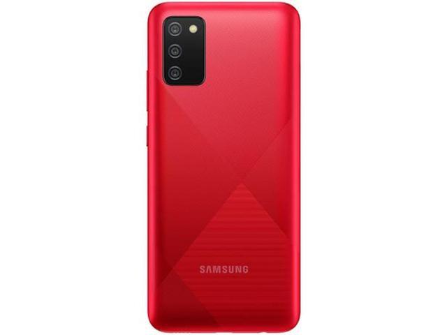 """Imagem de Smartphone Samsung Galaxy A02s 32GB 4G - Octa-Core 3GB RAM 6,5"""" Câm. Tripla + Bateria 5000 Mah"""