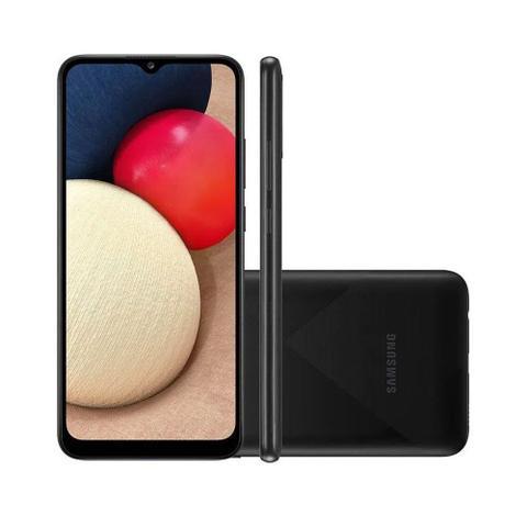 Imagem de Smartphone Samsung Galaxy A02s 32GB 4G Tela 6.5 Polegadas Câmera Tripla 13MP Selfie 5MP Android 10.0