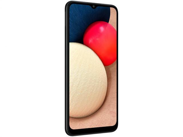 Imagem de Smartphone Samsung Galaxy A02s 32GB Preto 4G