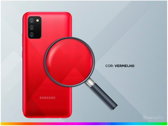 Imagem de Smartphone Samsung Galaxy A02s 32GB Vermelho 4G