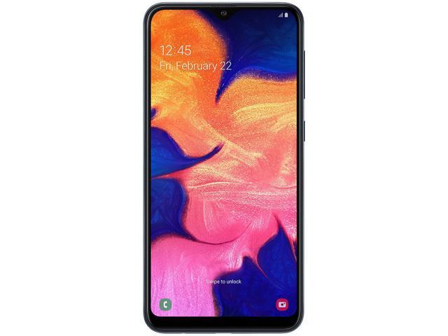 Imagem de Smartphone Samsung Galaxy A10 32GB Preto 4G