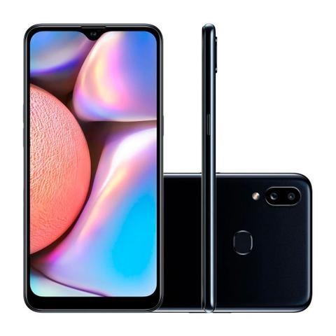 """Imagem de Smartphone Samsung Galaxy A10s 32GB Preto- 4G 2GB RAM 6,2"""" Câm. Dupla + Selfie 8MP"""