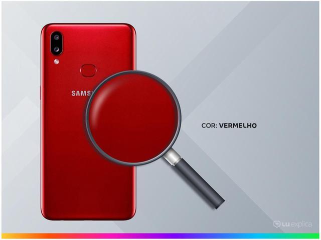 Imagem de Smartphone Samsung Galaxy A10s 32GB Vermelho