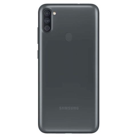 Imagem de Smartphone Samsung Galaxy A11 64GB Dual Câmera Tripla 13MP 5MP 2MP Frontal 8MP Android 10.0 Preto
