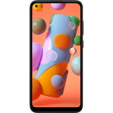 Imagem de Smartphone Samsung Galaxy A11 64GB Dual Tela 6.4 Octa-Core 4G Câmera Tripla 13MP+5MP+2MP - Preto