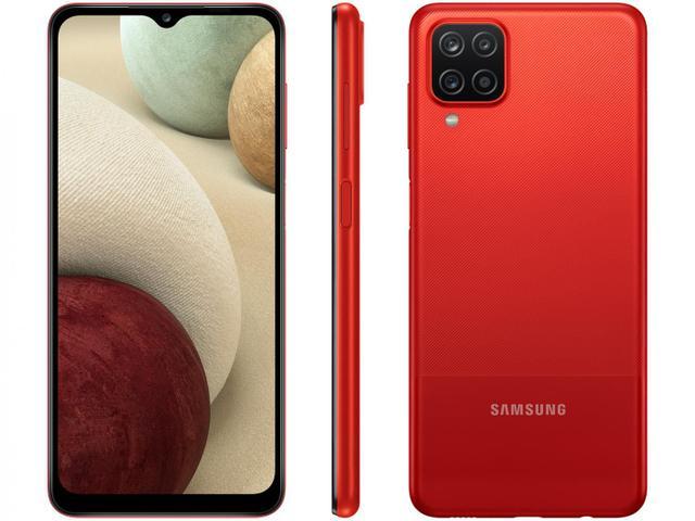 Imagem de Smartphone Samsung Galaxy A12 64GB Vermelho 4G