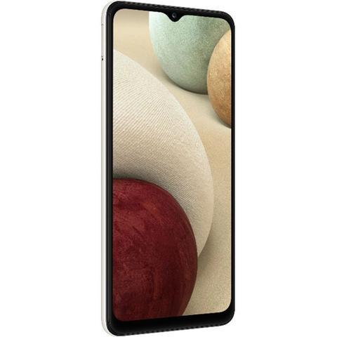 Imagem de Smartphone Samsung Galaxy A12 Branco 64GB, Tela Infinita de 6.5