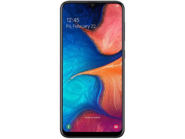 Imagem de Smartphone Samsung Galaxy A20 32GB Preto 4G