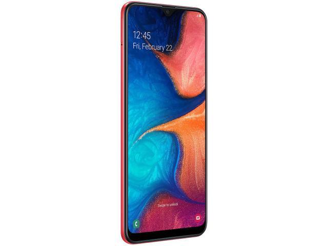 Imagem de Smartphone Samsung Galaxy A20 32GB Vermelho 4G