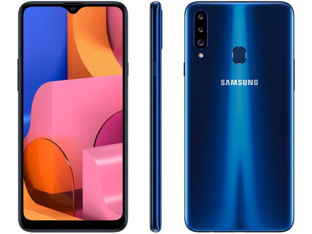 Imagem de Smartphone Samsung Galaxy A20s 32GB Azul 4G