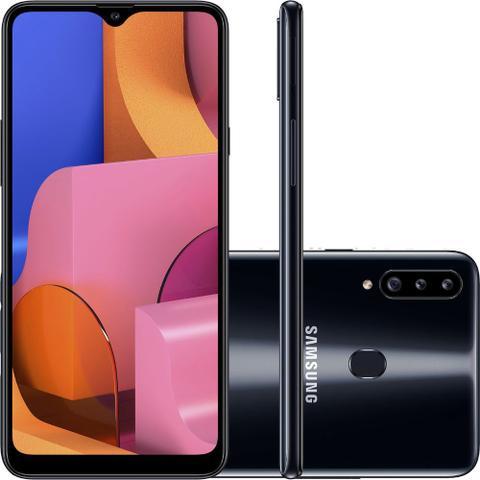 Imagem de Smartphone Samsung Galaxy A20s 32GB Dual Chip Android 9.0 Tela 6.5