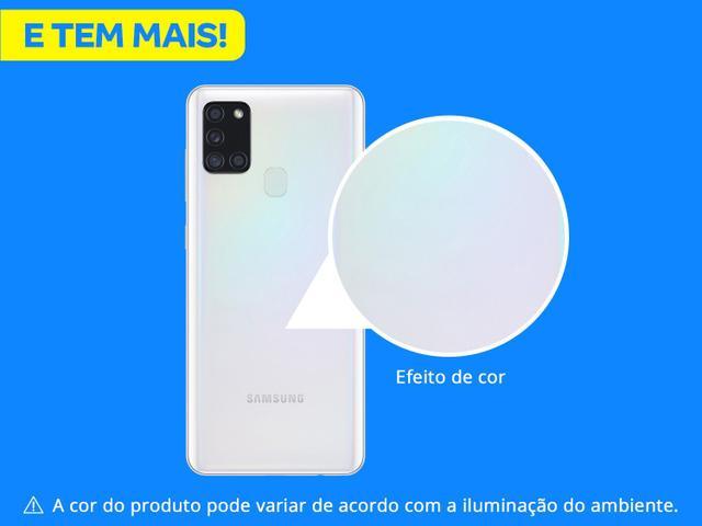 Imagem de Smartphone Samsung Galaxy A21s 64GB Branco 4G