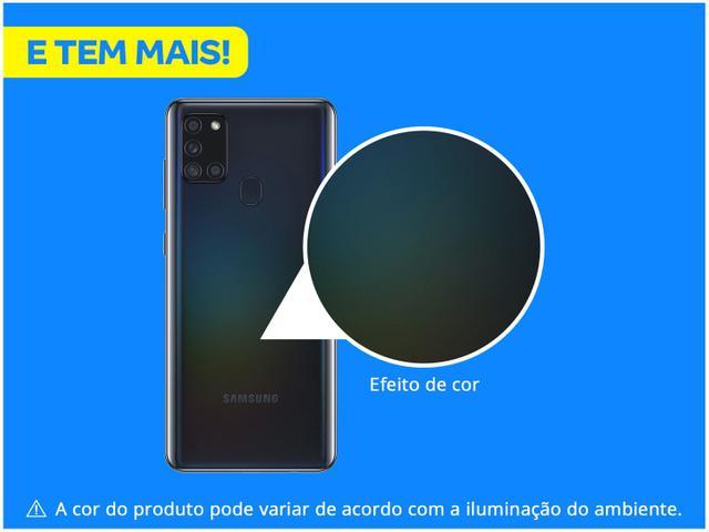 Imagem de Smartphone Samsung Galaxy A21s 64GB Preto 4G