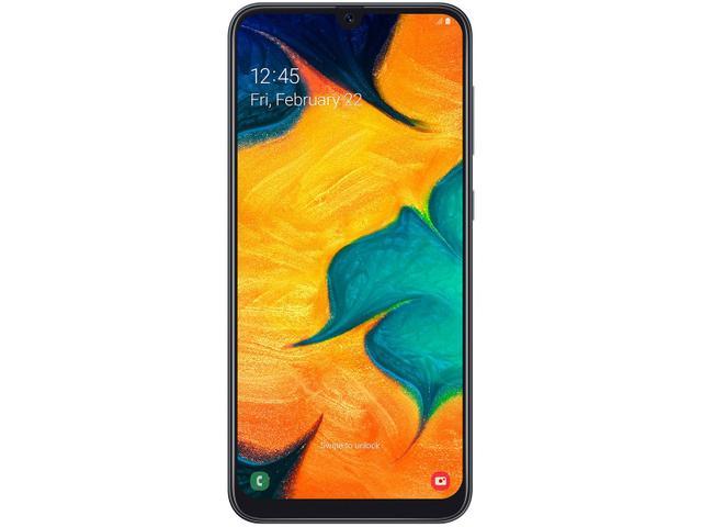 Imagem de Smartphone Samsung Galaxy A30 64GB Preto 4G