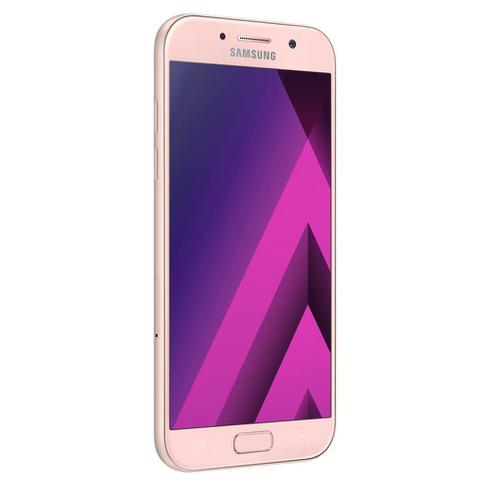 Imagem de Smartphone Samsung Galaxy A5 2017 A520F/DS Rosa com 64GB, Dual Chip, Tela 5.2