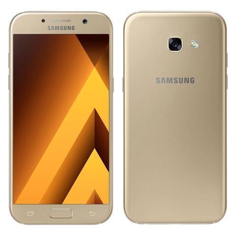 Imagem de Smartphone Samsung Galaxy A5 2017, Dual Chip, Dourado, Tela 5.2